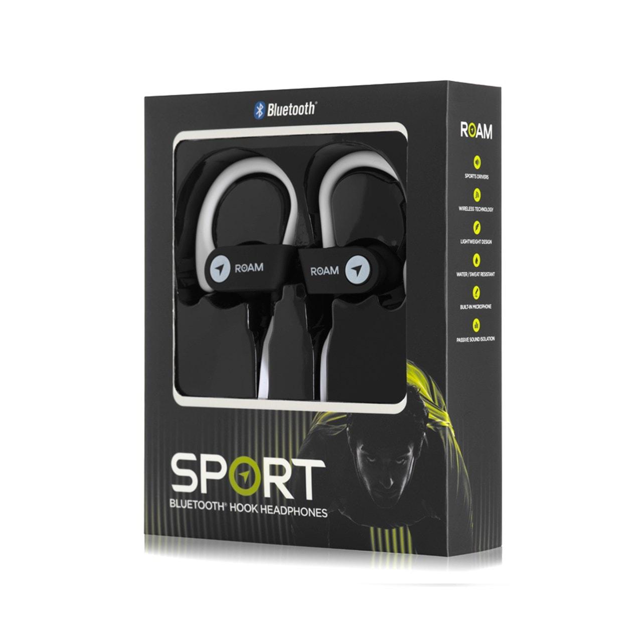 Roam Sport Ear Hook White Bluetooth Earphones - 3