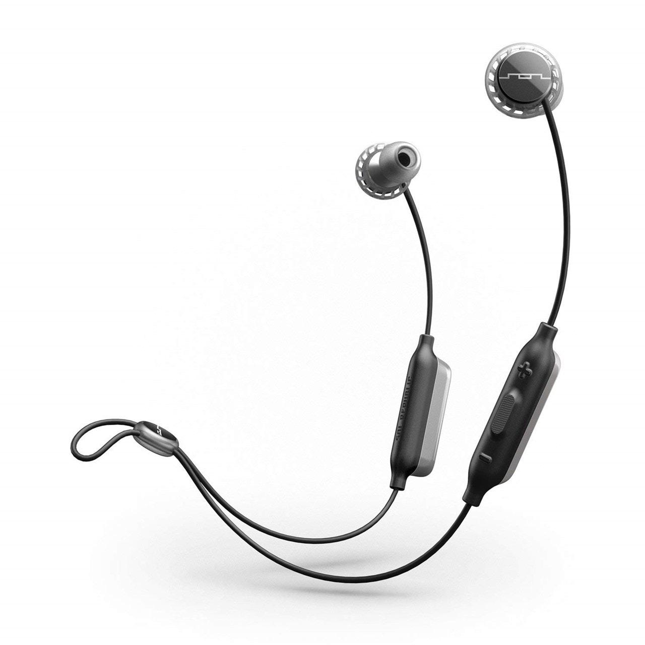 Sol Republic Relay Grey Bluetooth Sports Earphones - 1