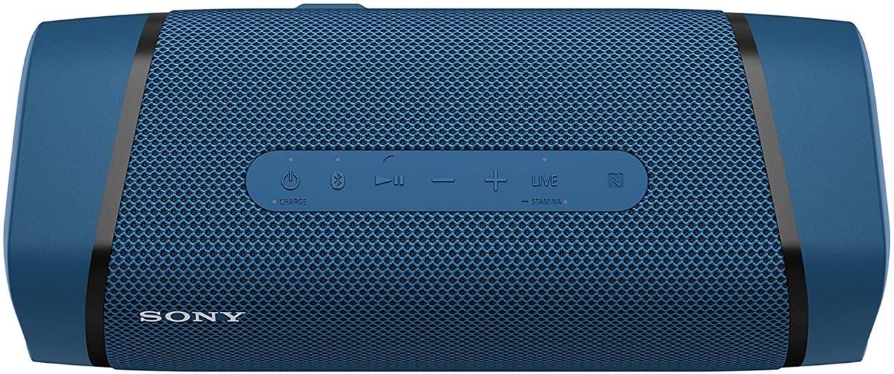 Sony SRSXB33 Blue Bluetooth Speaker - 4