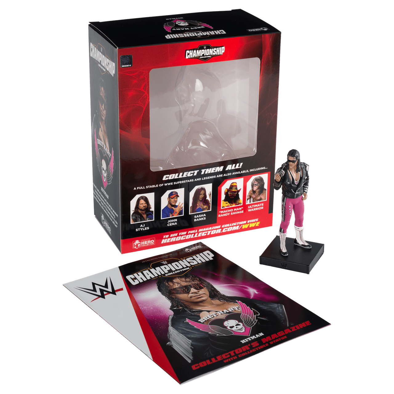 Bret Hart: WWE Championship Figurine: Hero Collector - 2