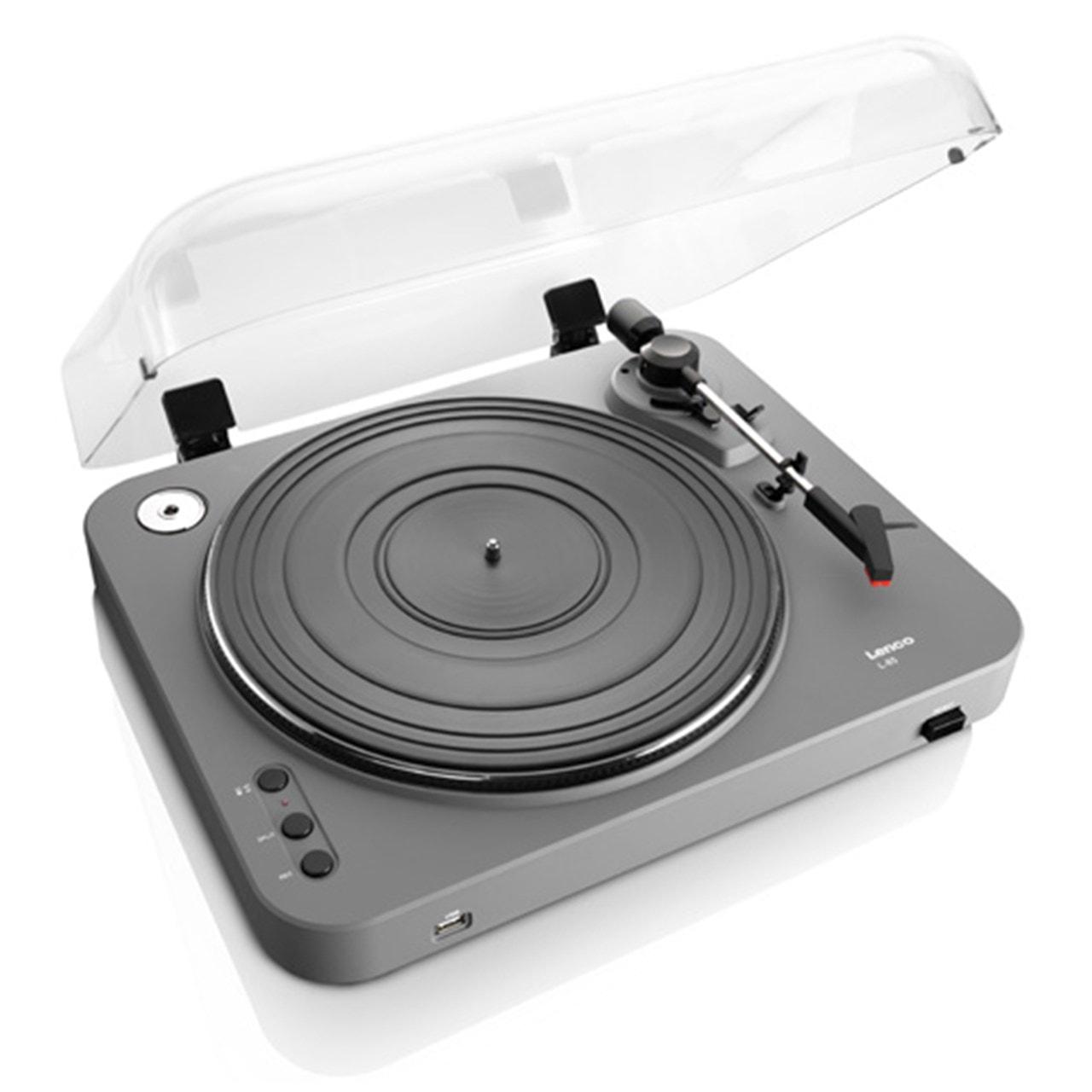 Lenco L-85 Grey USB Turntable - 2