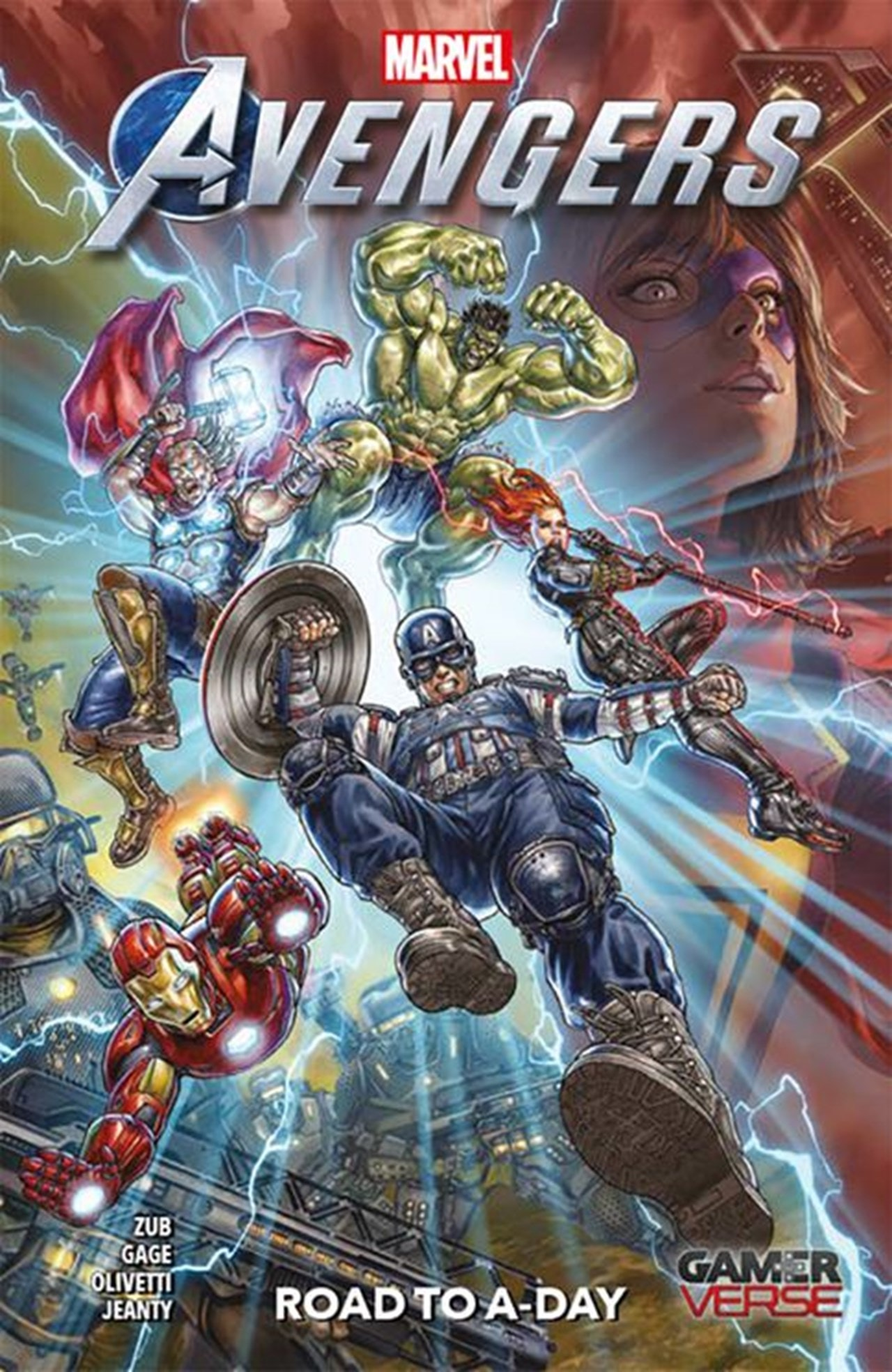 Avengers: Road To A Day - 1