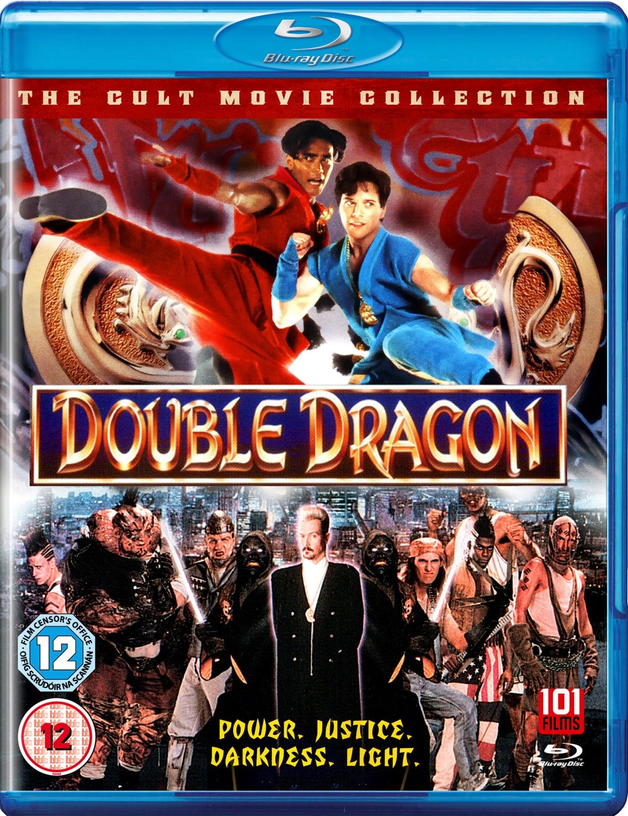 Double Dragon Blu Ray Free Shipping Over 20 Hmv Store