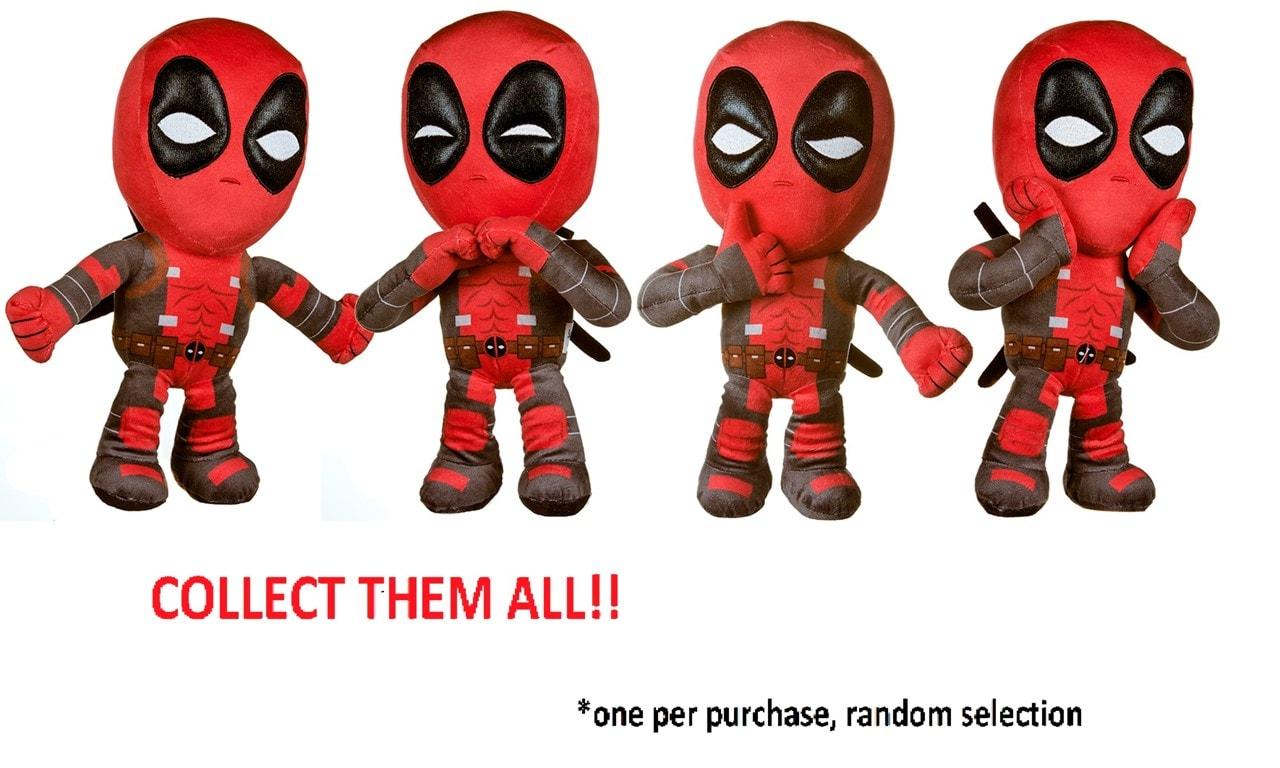 "Deadpool 12"" Plush Toy (4 styles) - 5"