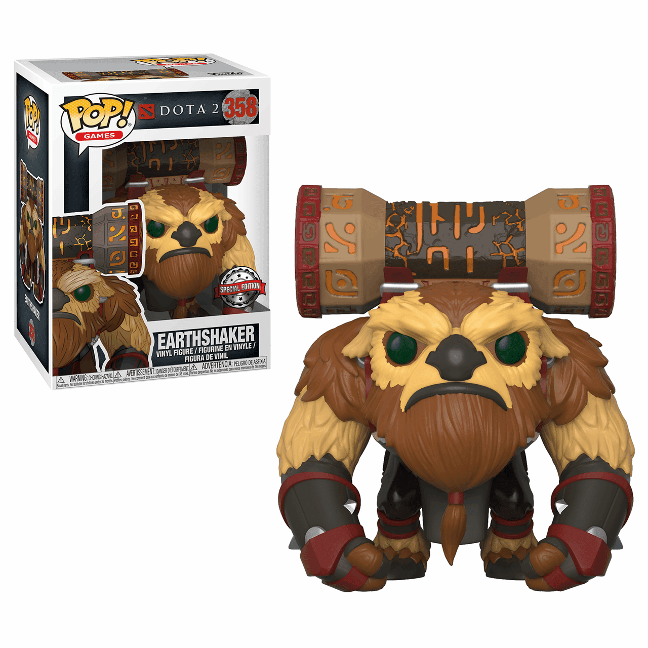 Pop Vinyl: Earthshaker with Totem (358): Dota 2 - 1