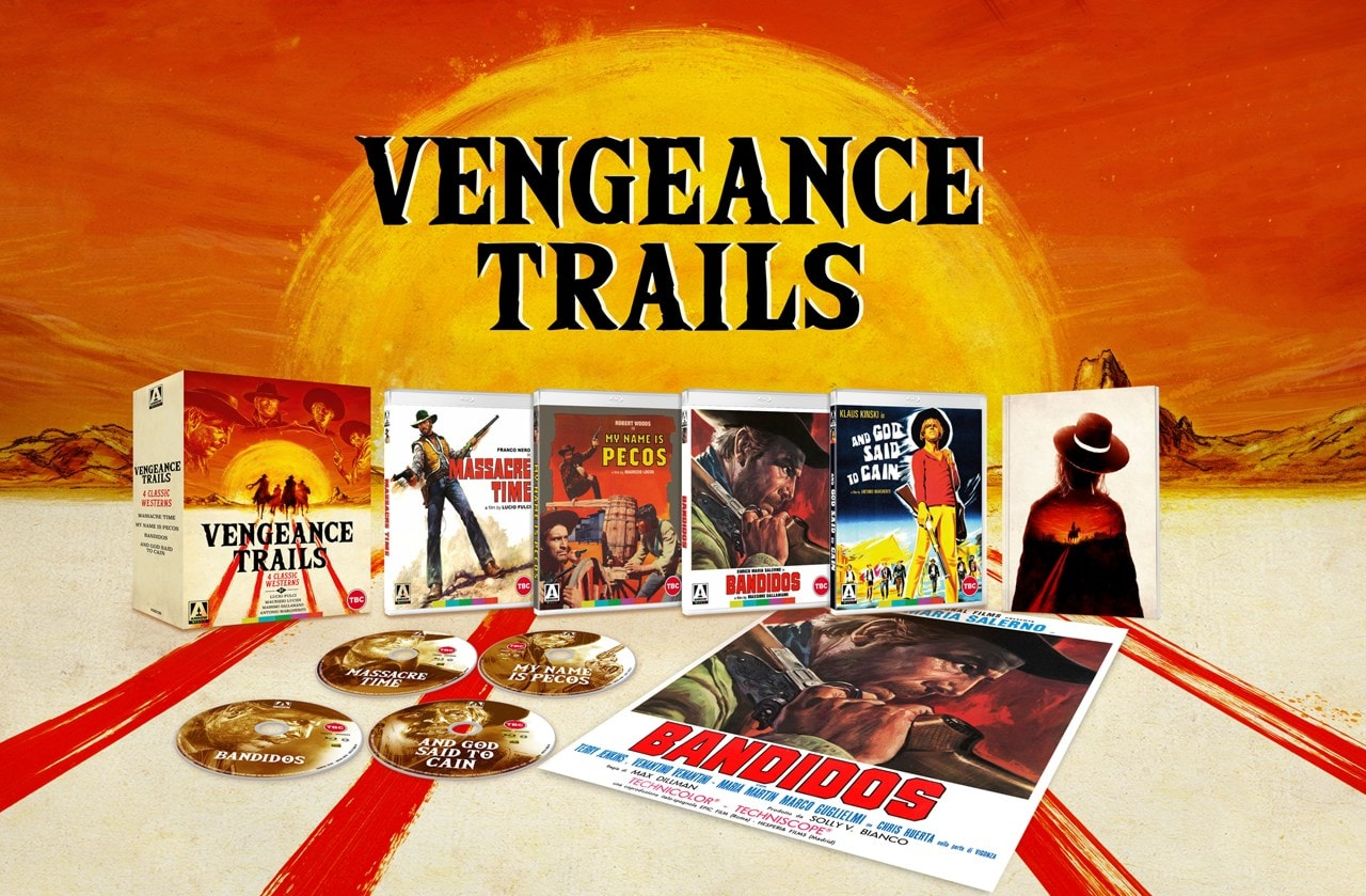 Vengeance Trails - Four Classic Westerns Limited Edition - 1