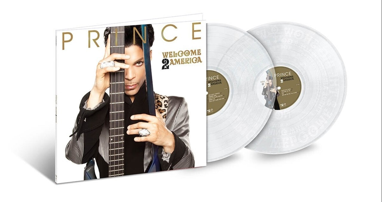 Welcome 2 America - Limited Edition Clear Vinyl - 1