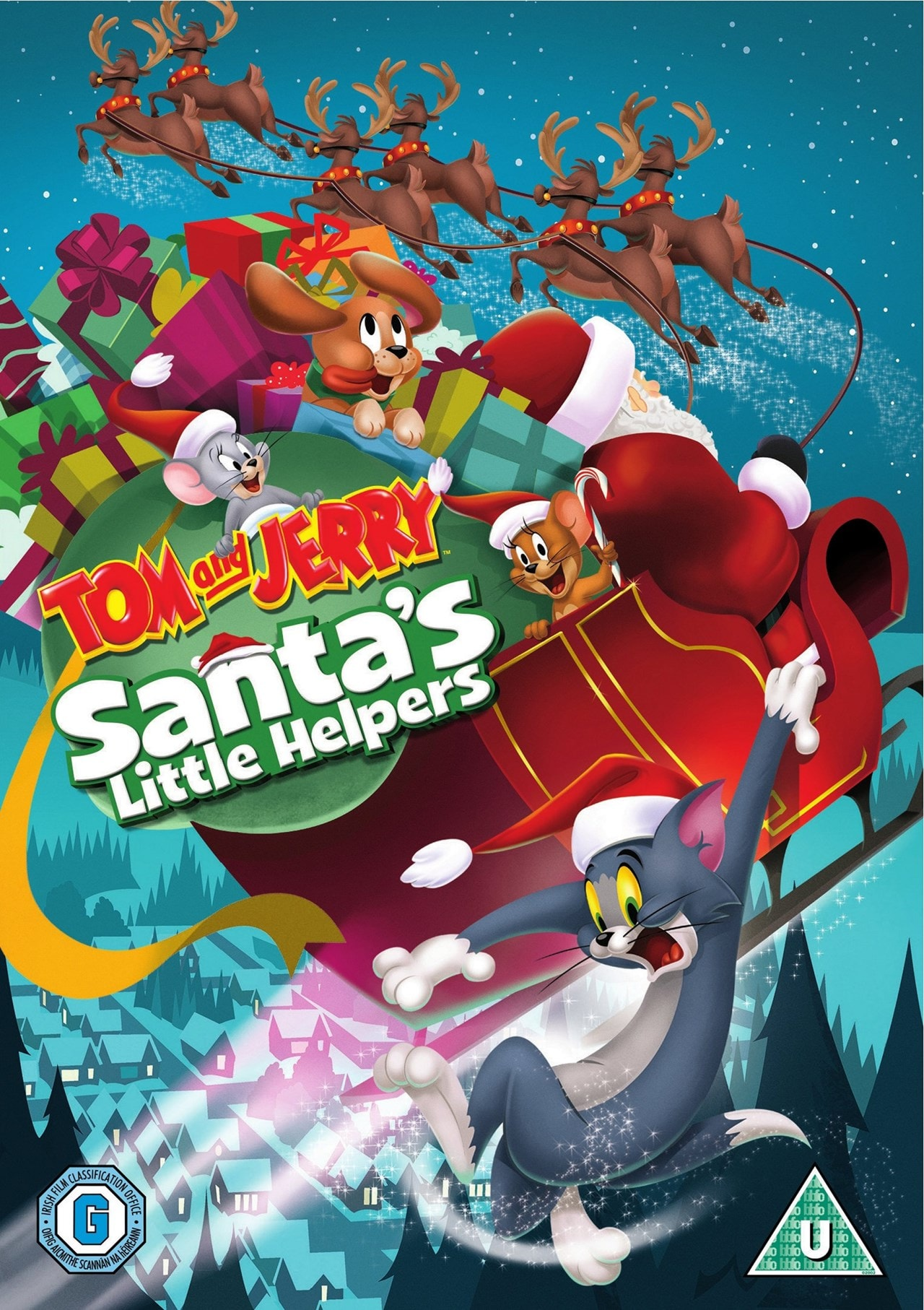 Tom and Jerry's Santa's Little Helpers - 1