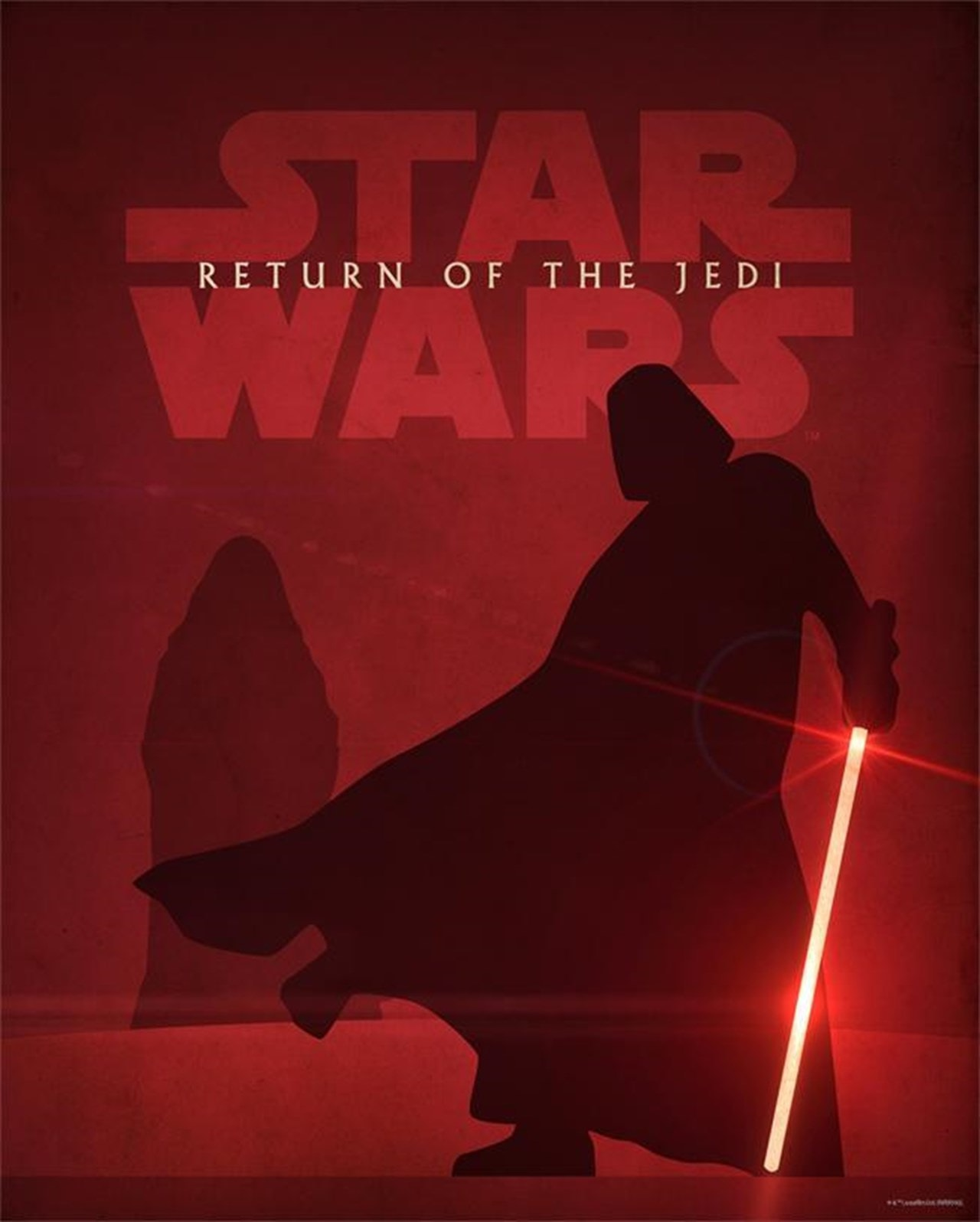 Return of the Jedi: Star Wars Limited Edition Art Print - 1
