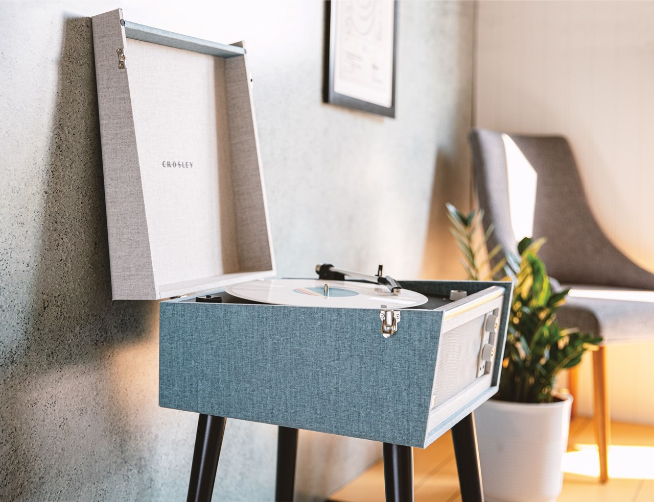 Crosley Bermuda Tourmaline Turntable - 7