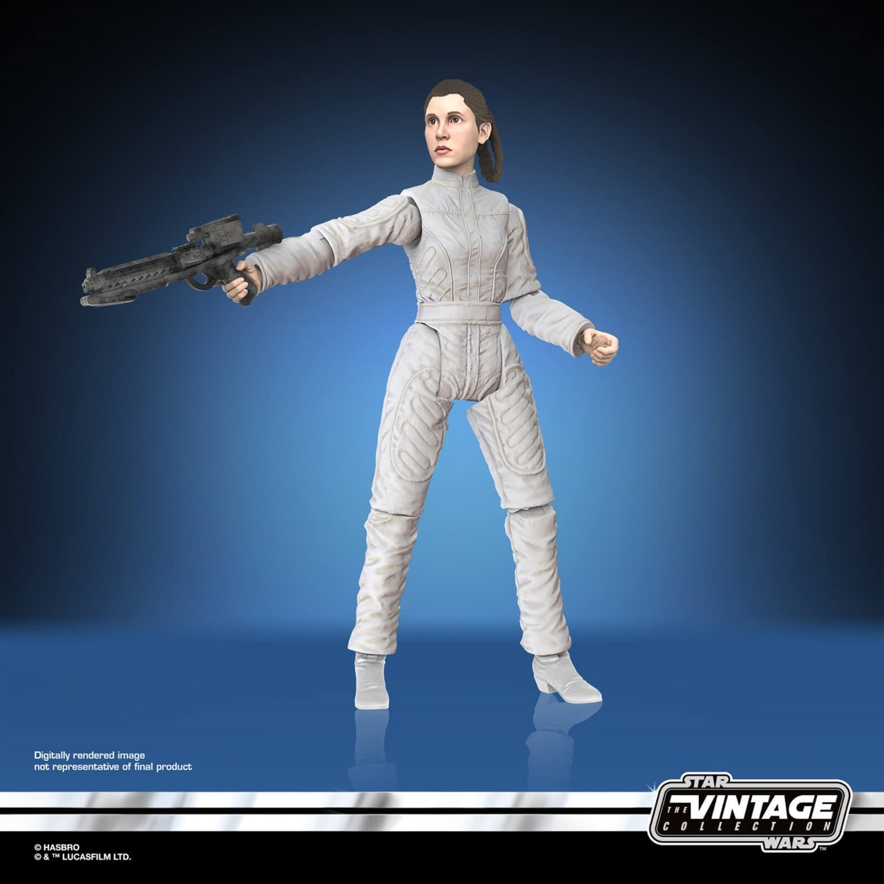 Star Wars Vintage Collection Princess Leia Bespin Escape Action Figure - 2