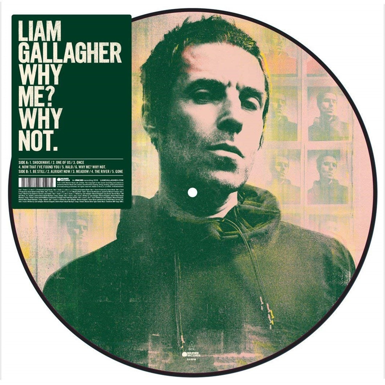 Why Me? Why Not. (hmv Exclusive) Picture Disc - 1