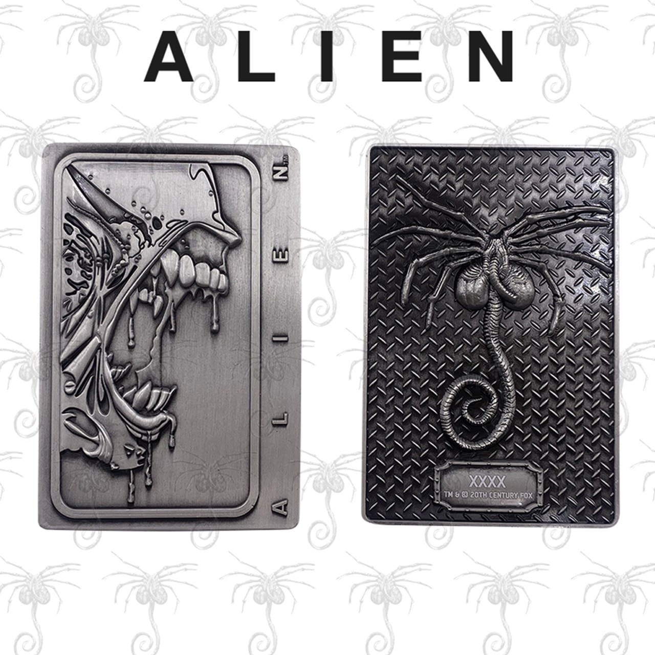 Xenomorph: Alien Antique Silver Metal Collectible (online only) - 1