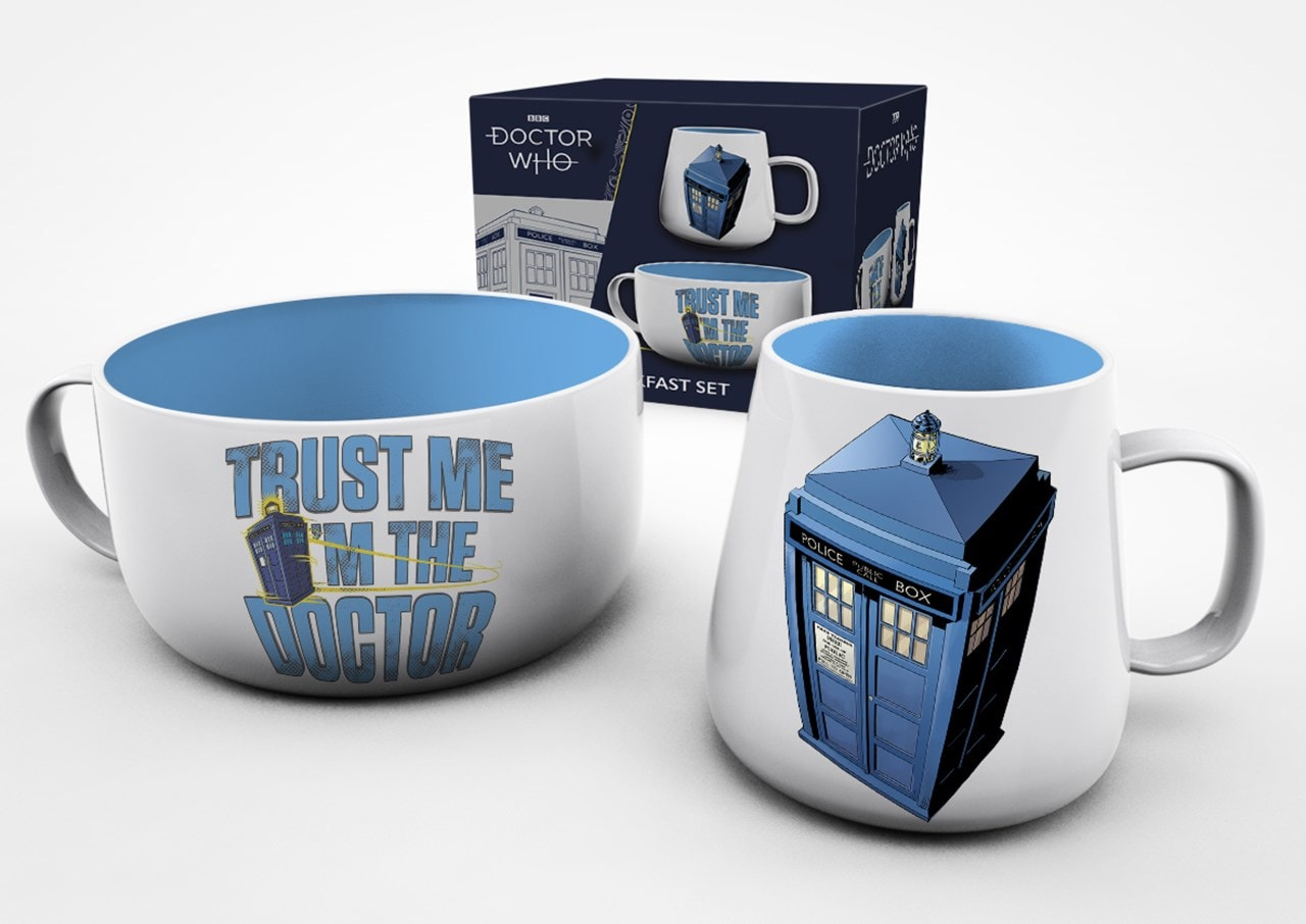 Doctor Who (Tardis) Breakfast Set - 1