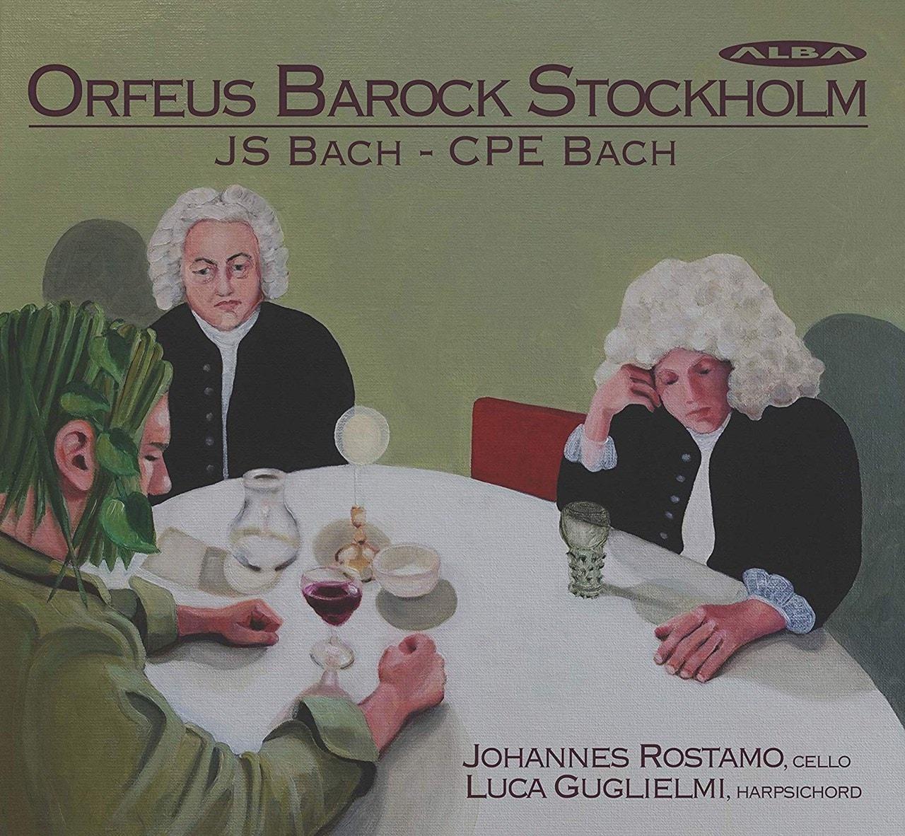 J.S. Bach/ C.P.E. Bach: Orfeus Barock Stockholm - 1