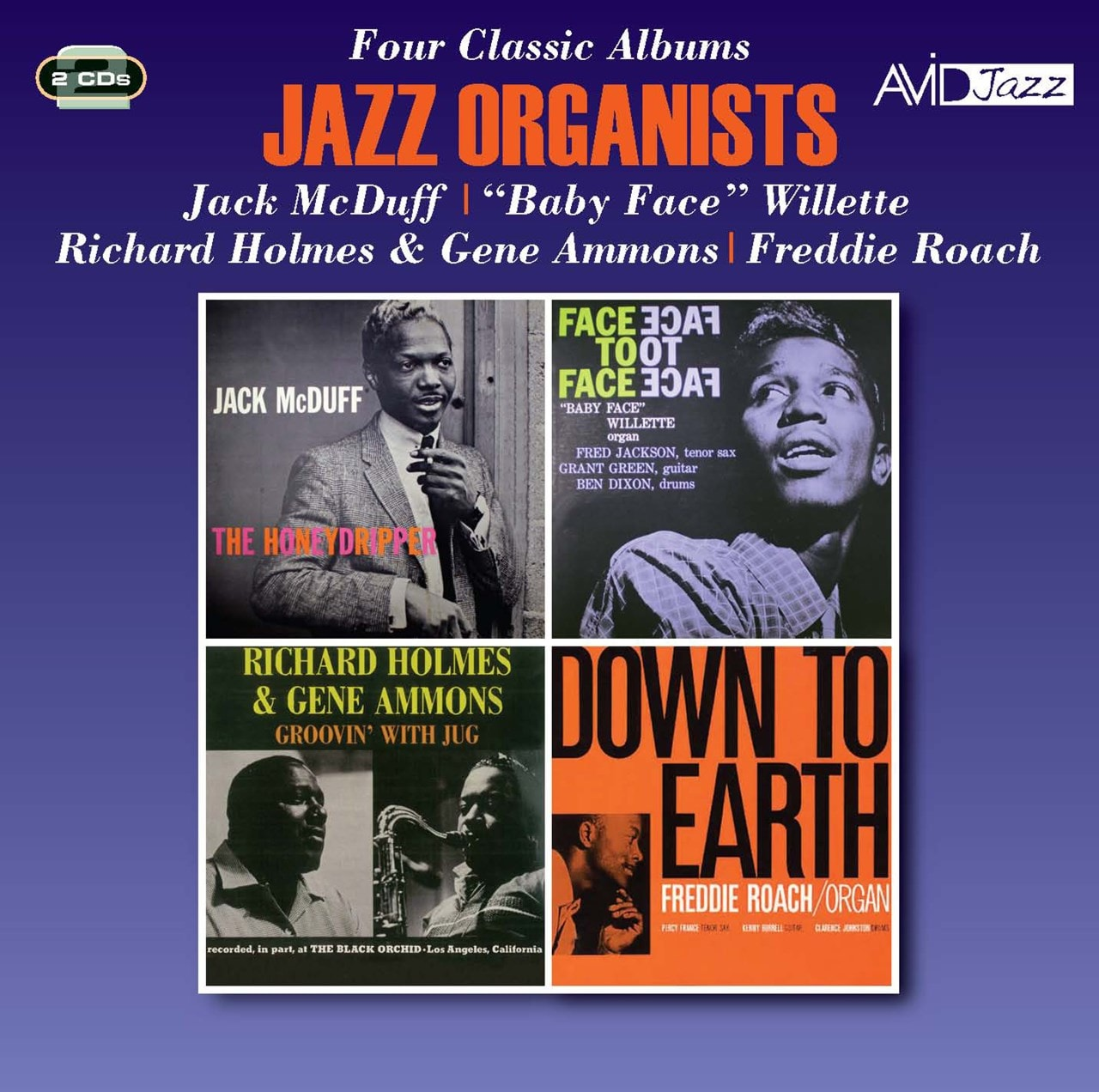Jazz Organists: Four Classic Albums - 1