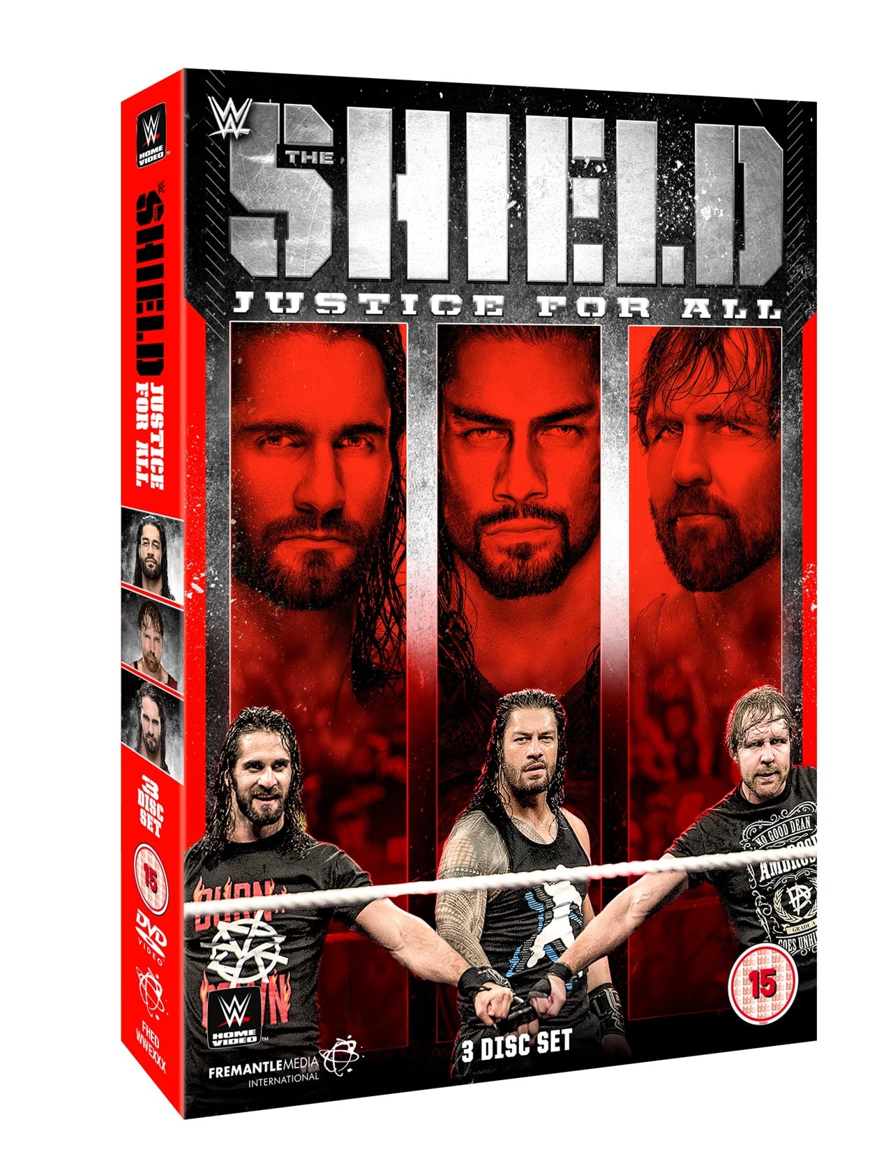 WWE: The Shield - Justice for All - 1