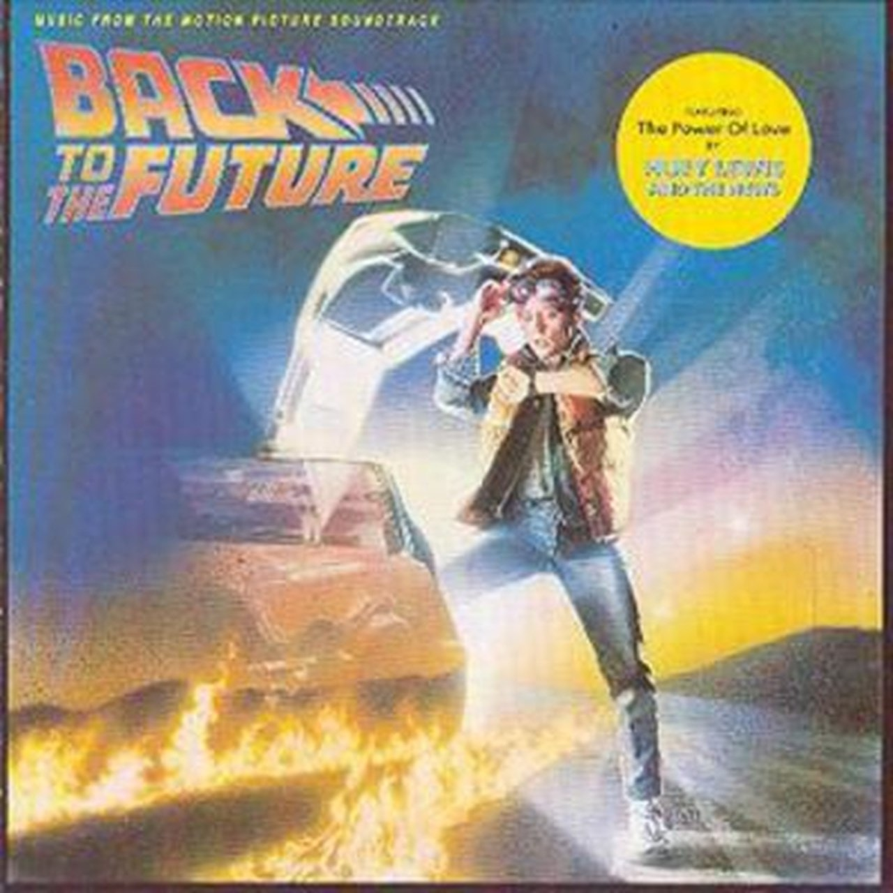Back to the Future: MUSIC from the MOTION PICTURE SOUNDTRACK - 1