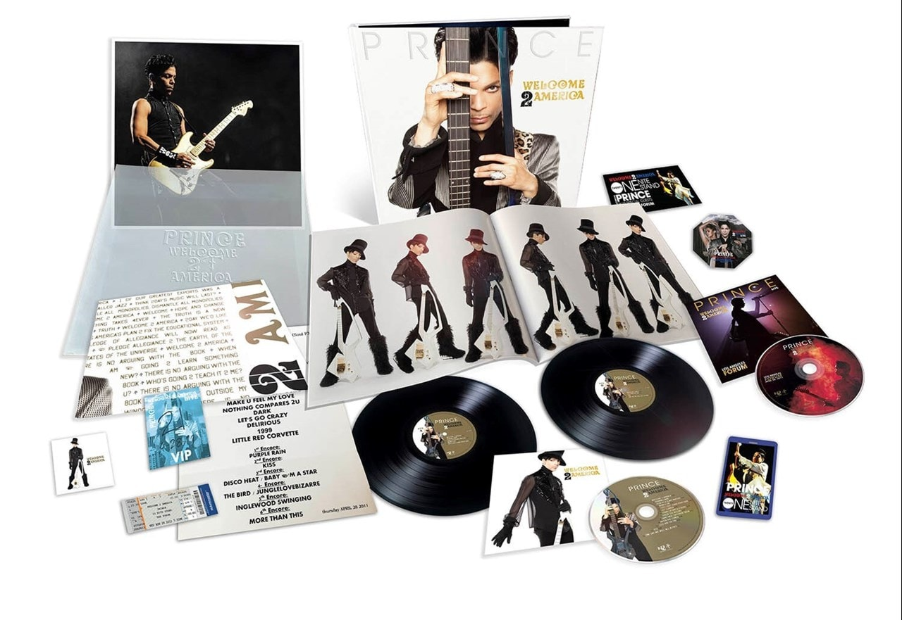 Welcome 2 America - Deluxe Box Set - 2LP, CD & Blu-ray - 1
