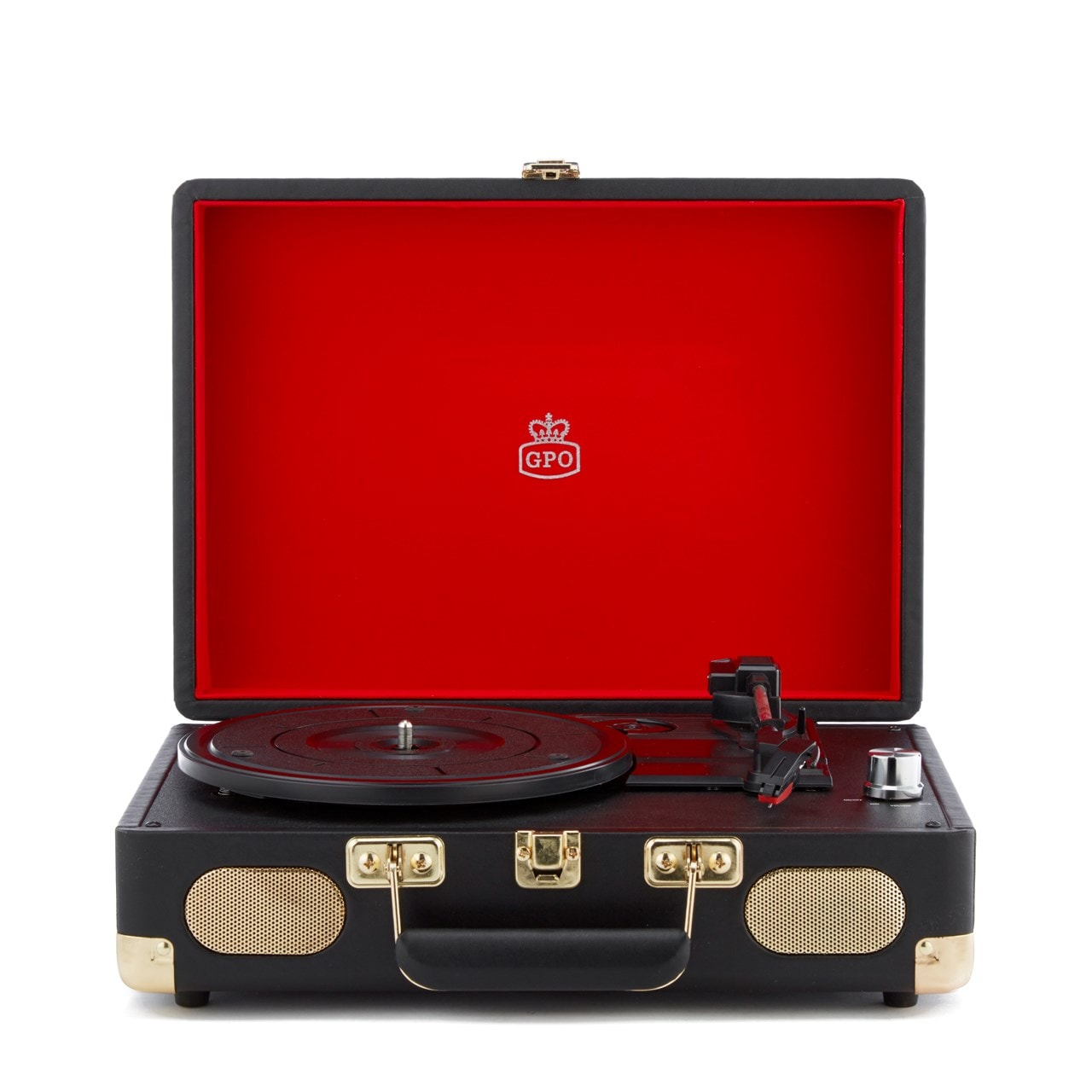 GPO Soho Black Turntable (hmv Exclusive) - 1