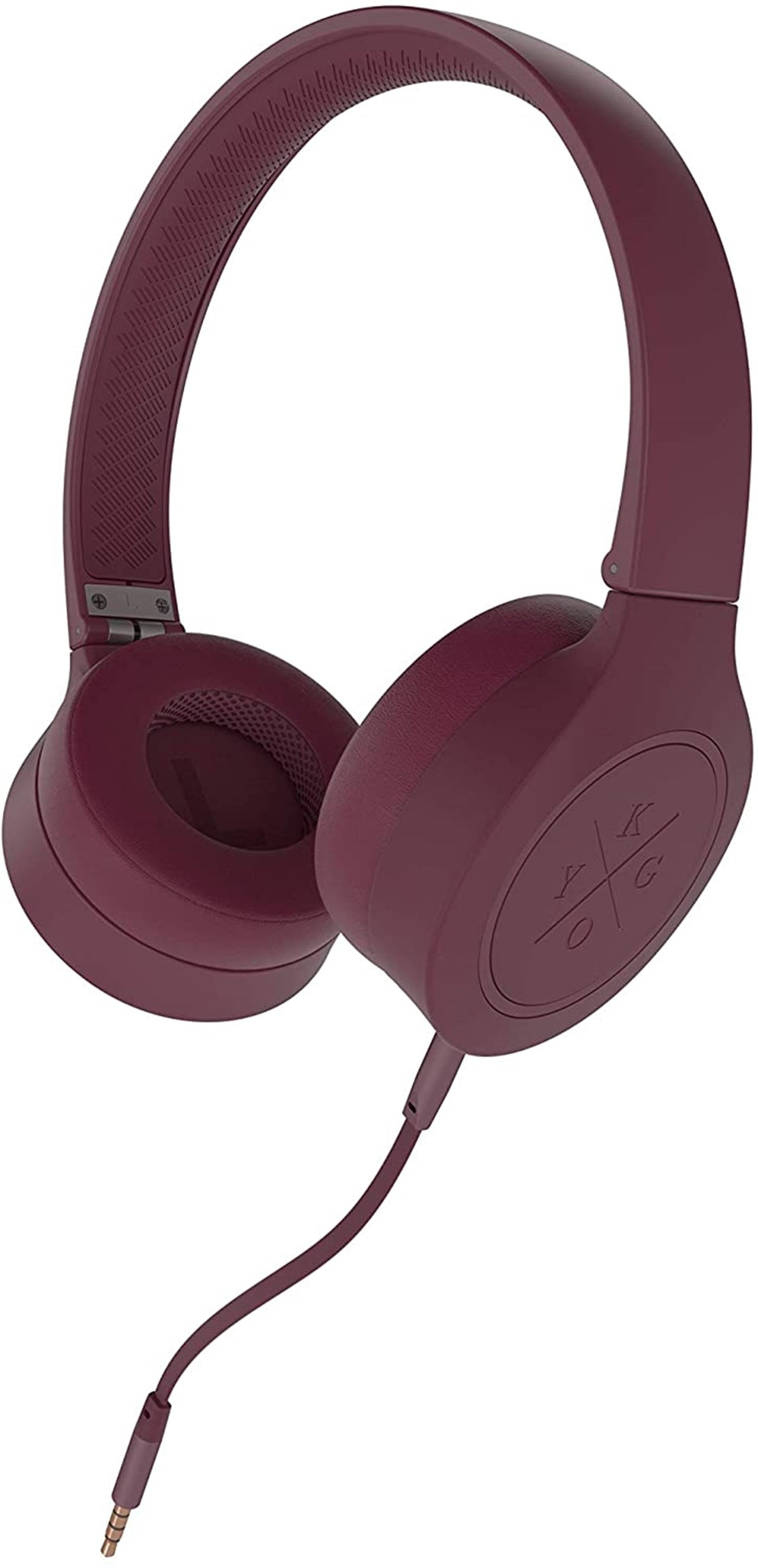 Kygo A4/300 Burgundy Bluetooth Headphones - 4