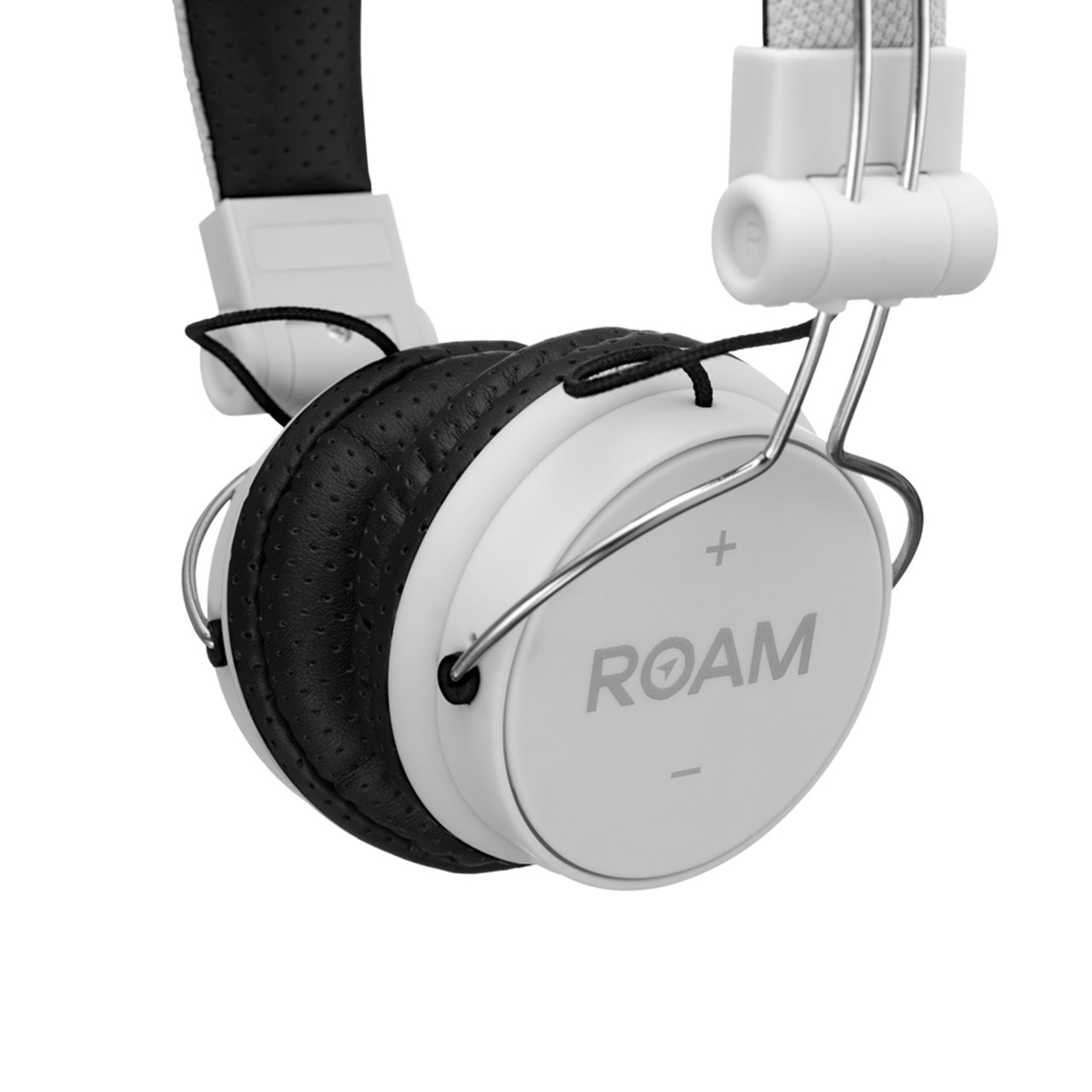 Roam Journey White Bluetooth Headphones - 2