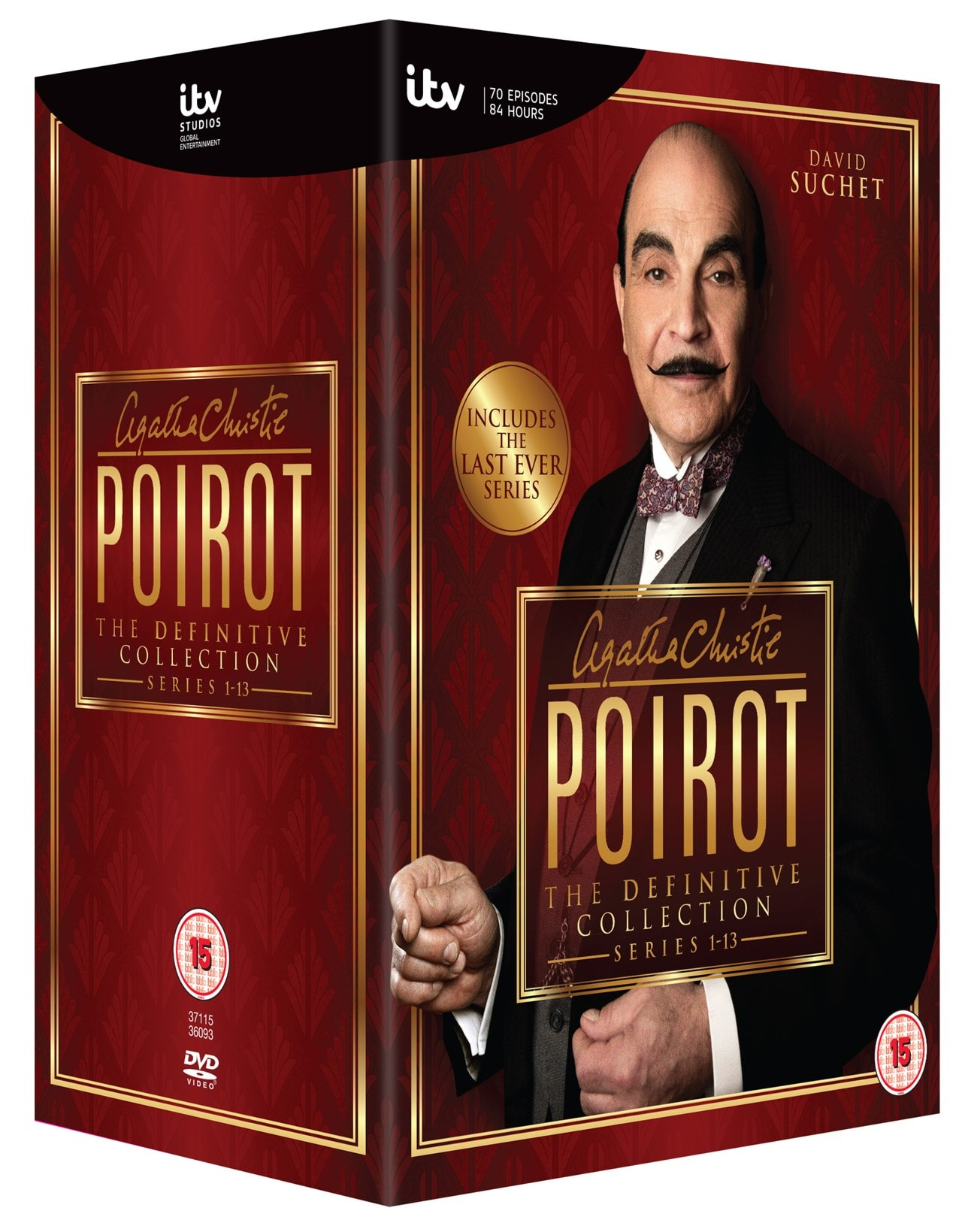 Agatha Christie's Poirot: The Definitive Collection - Series 1-13 - 2