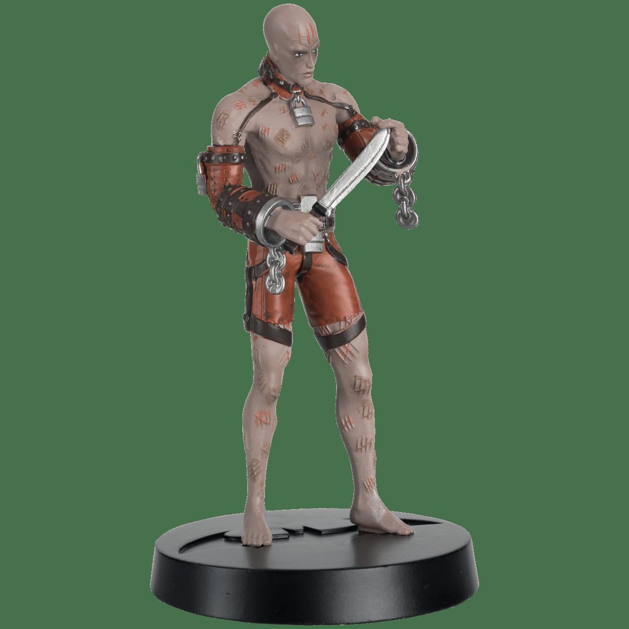 Zsasz Batman Arkham Asylum 1:16 Figurine With Magazine: Hero Collector - 3