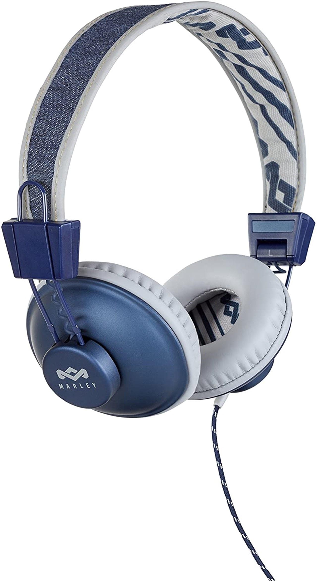 House Of Marley Positive Vibration Denim Headphones - 1