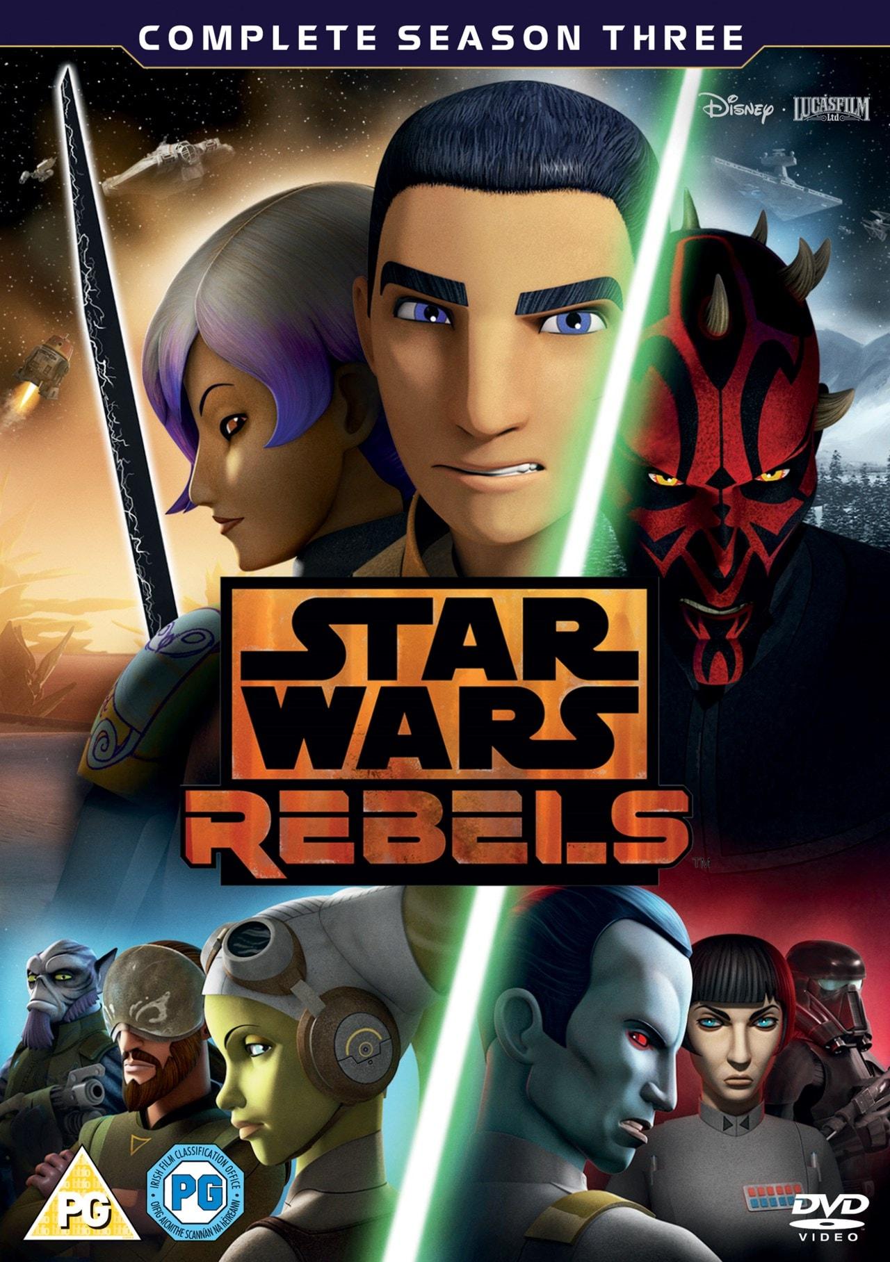 Star Wars Rebels: Complete Season 3 - 1