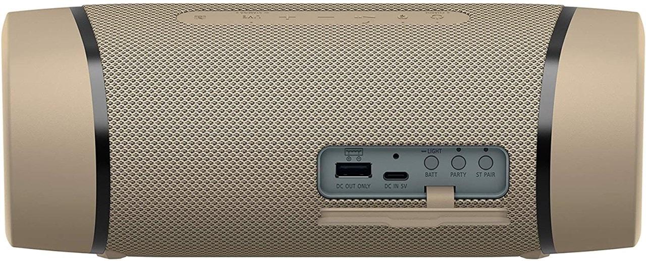 Sony SRSXB33 Cream Bluetooth Speaker - 3