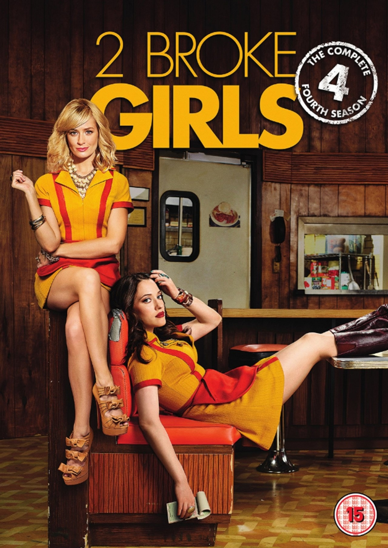 2 Broke Girls: The Complete Fourth Season - 1