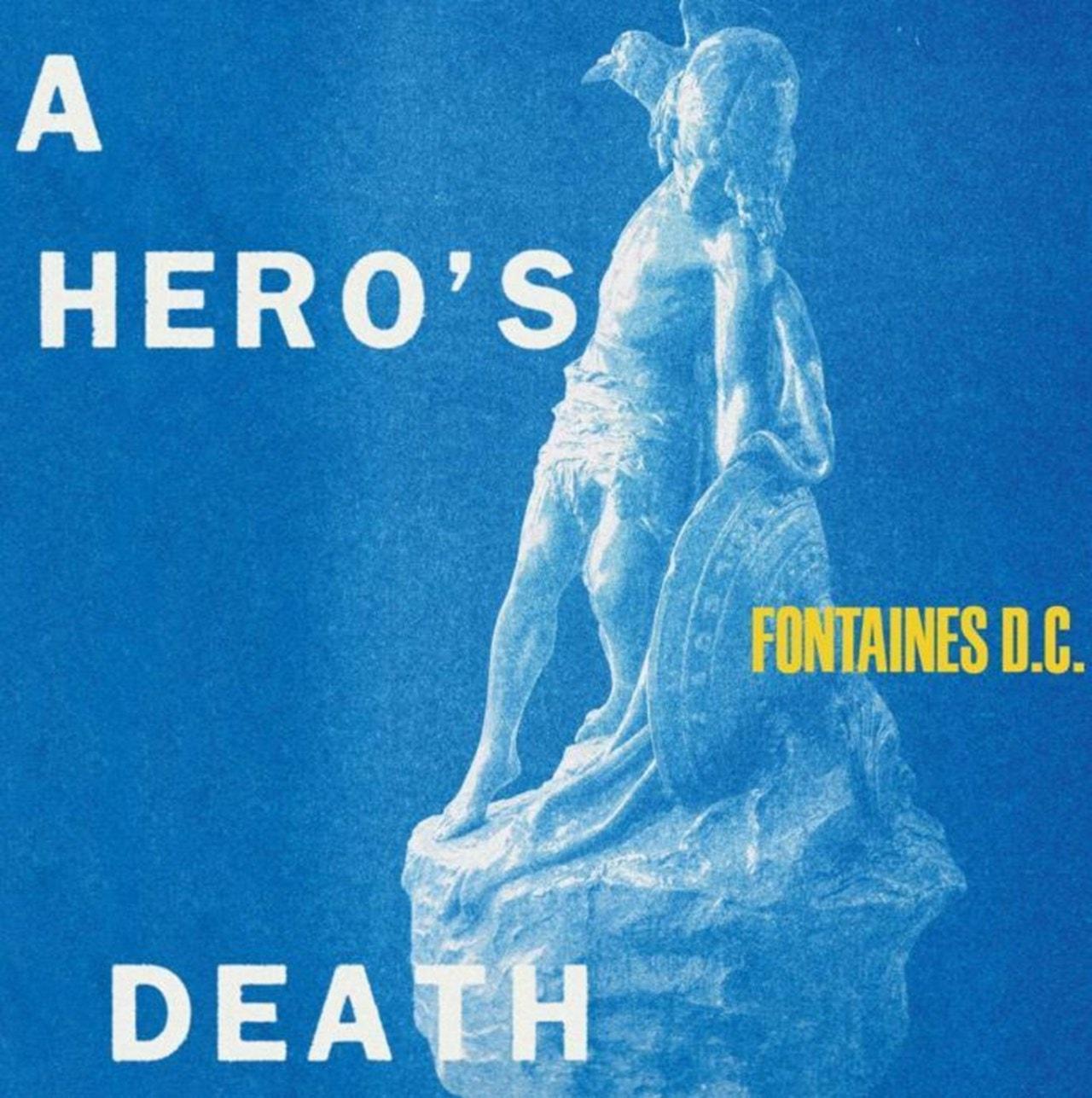 A Hero's Death: Clear Vinyl (LRS IAOTY) - 1