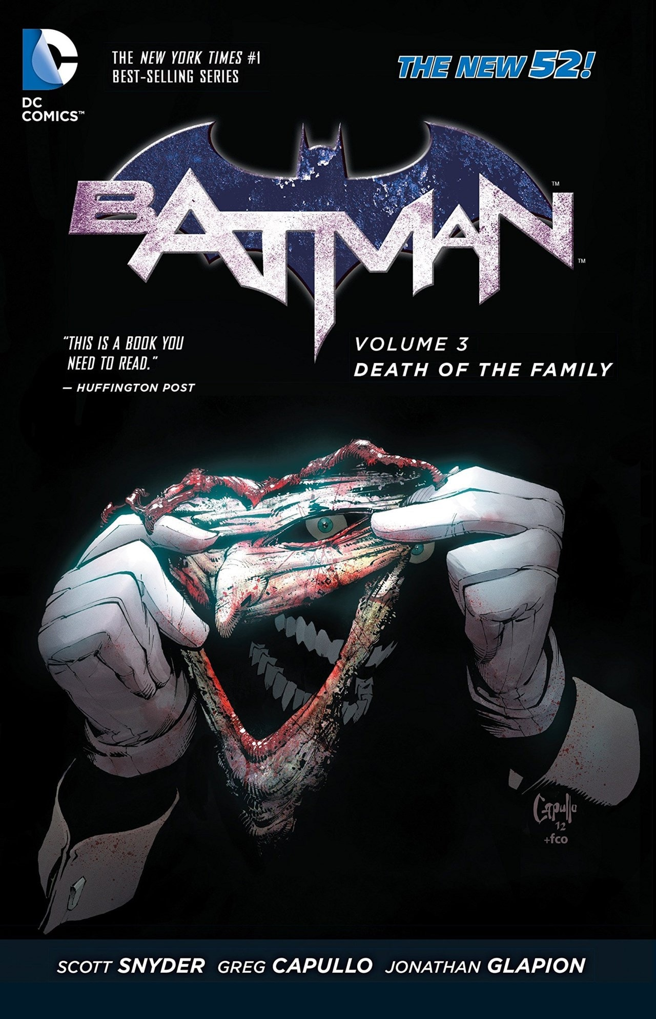 Batman: Volume 3: Death Of The Family (The New 52) - 1
