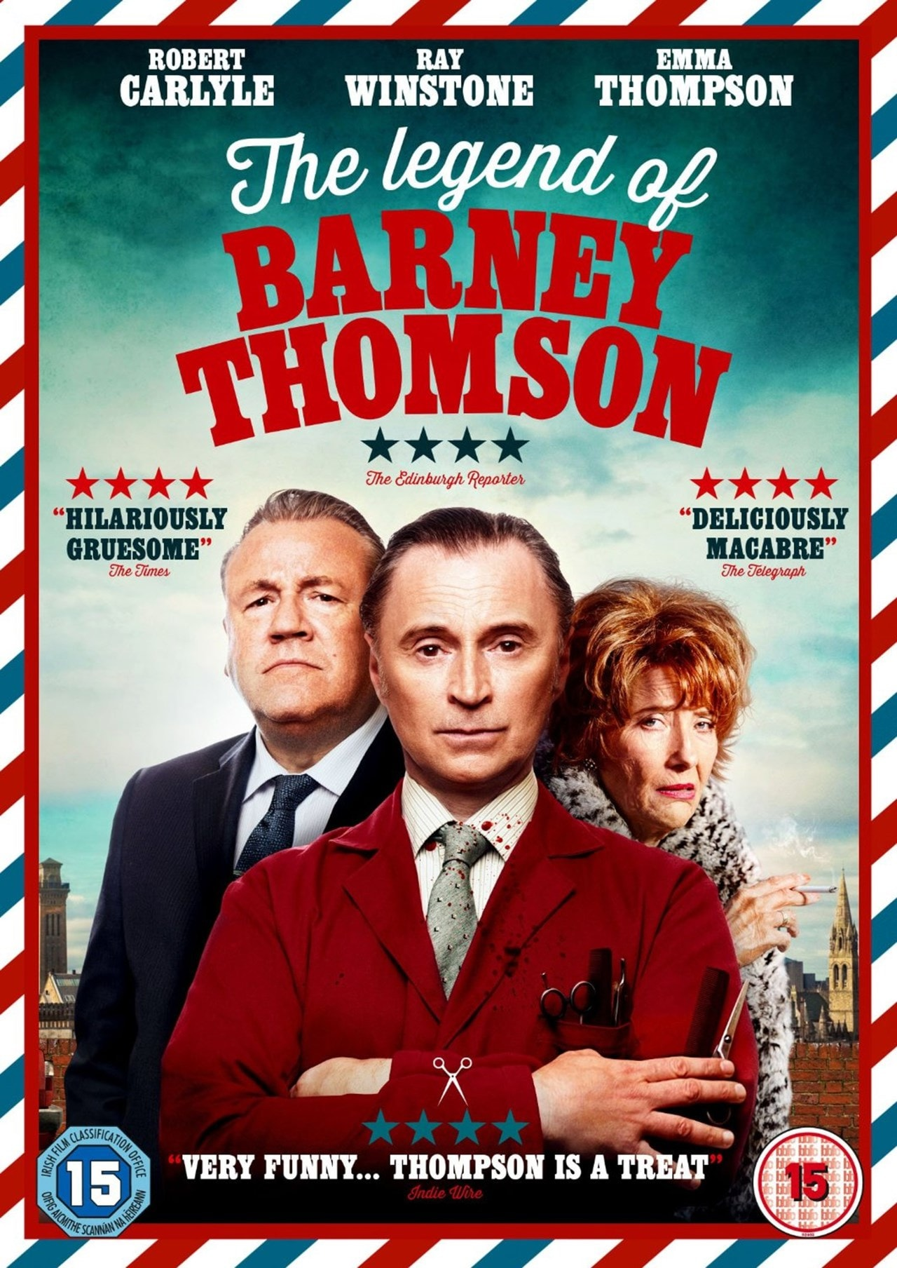 The Legend of Barney Thomson - 1