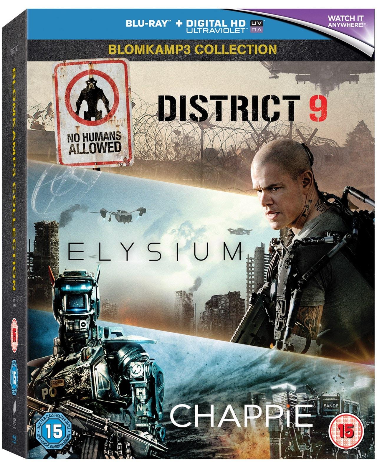 Chappie/District 9/Elysium - 1