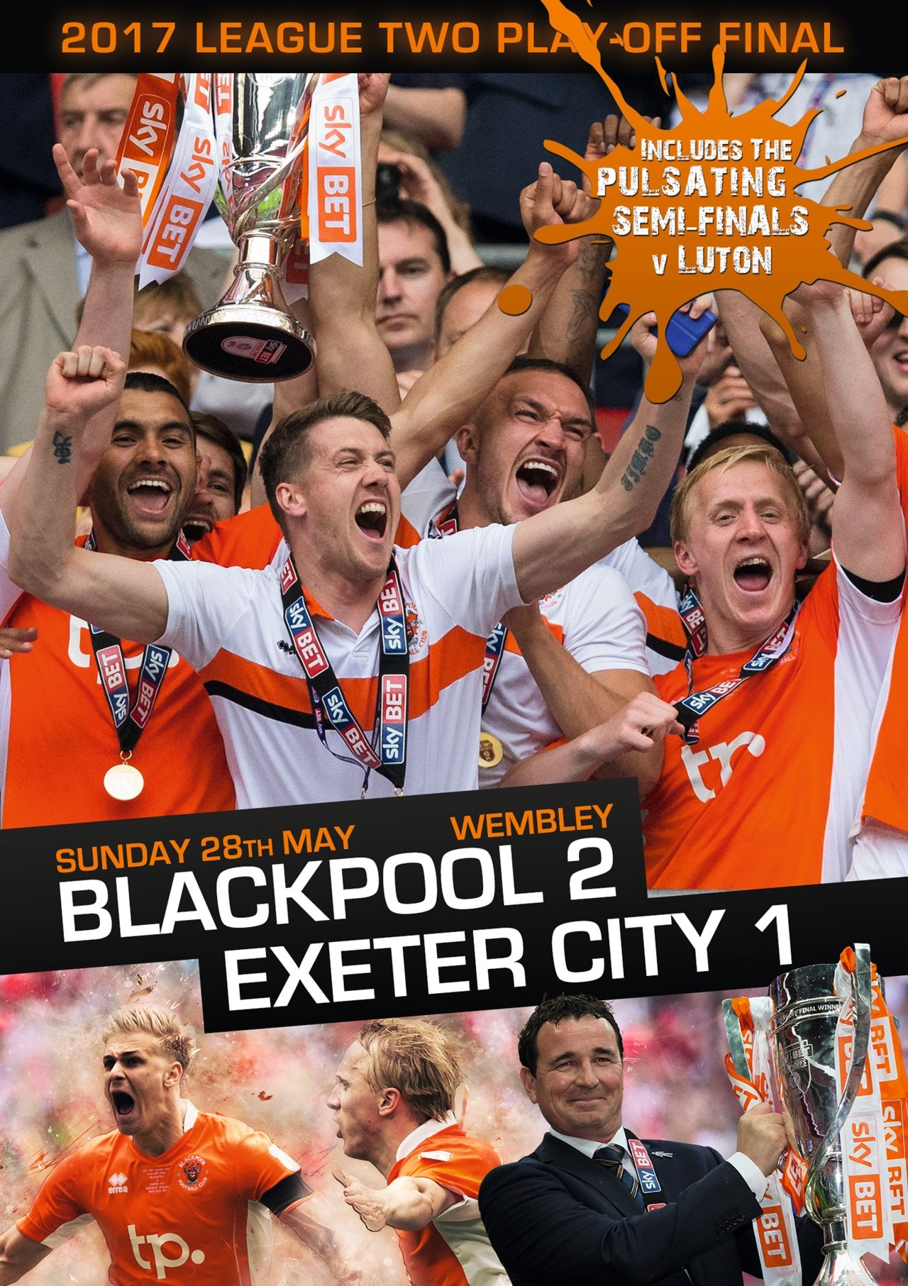 2017 League Two Play-off Final: Blackpool 2-1 Exeter City - 1