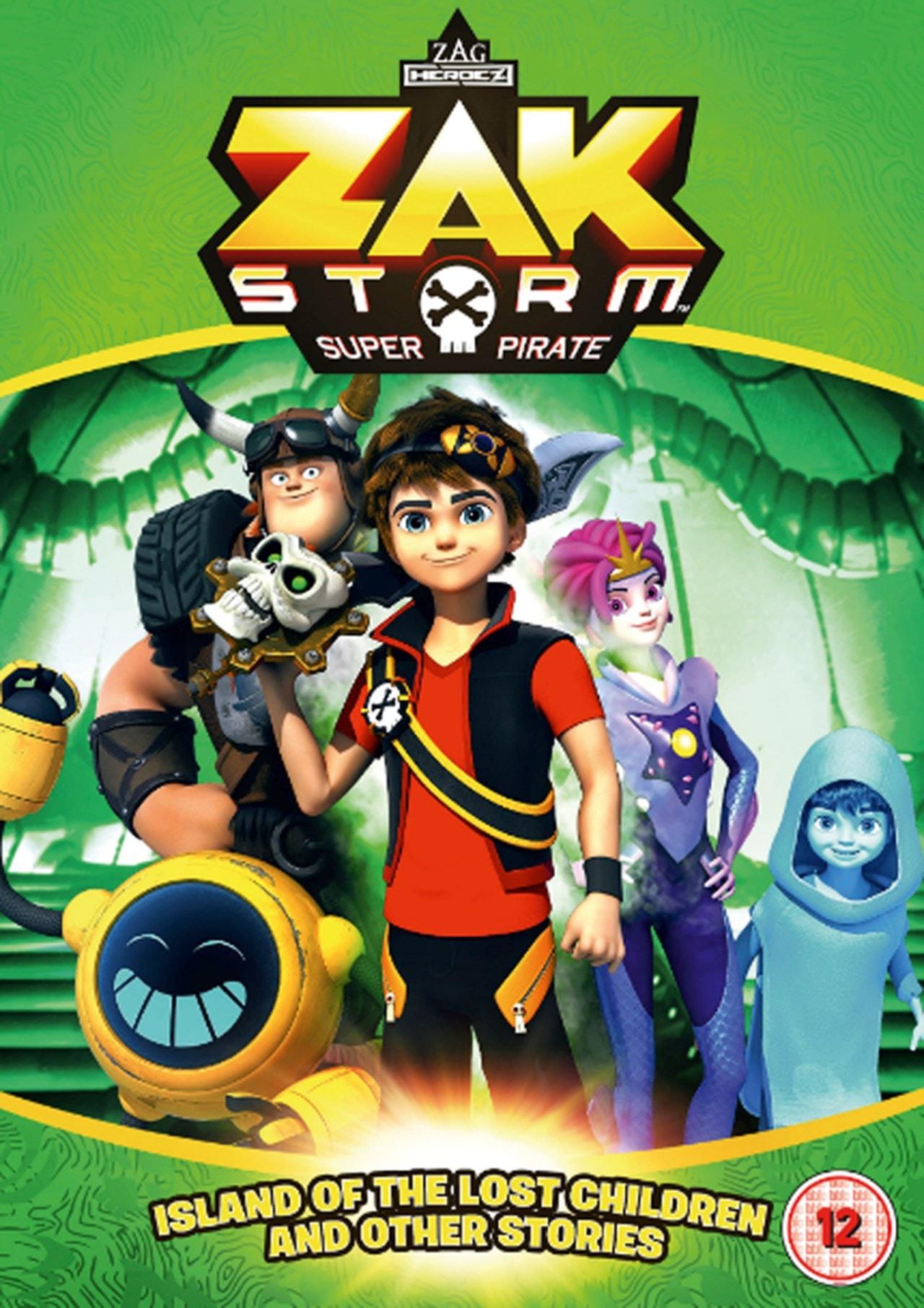Zak Storm: Super Pirate - Island of the Lost Children And... - 1