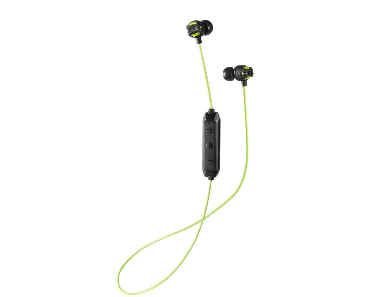 JVC Xtreme Xplosives Green Bluetooth Earphones - 1