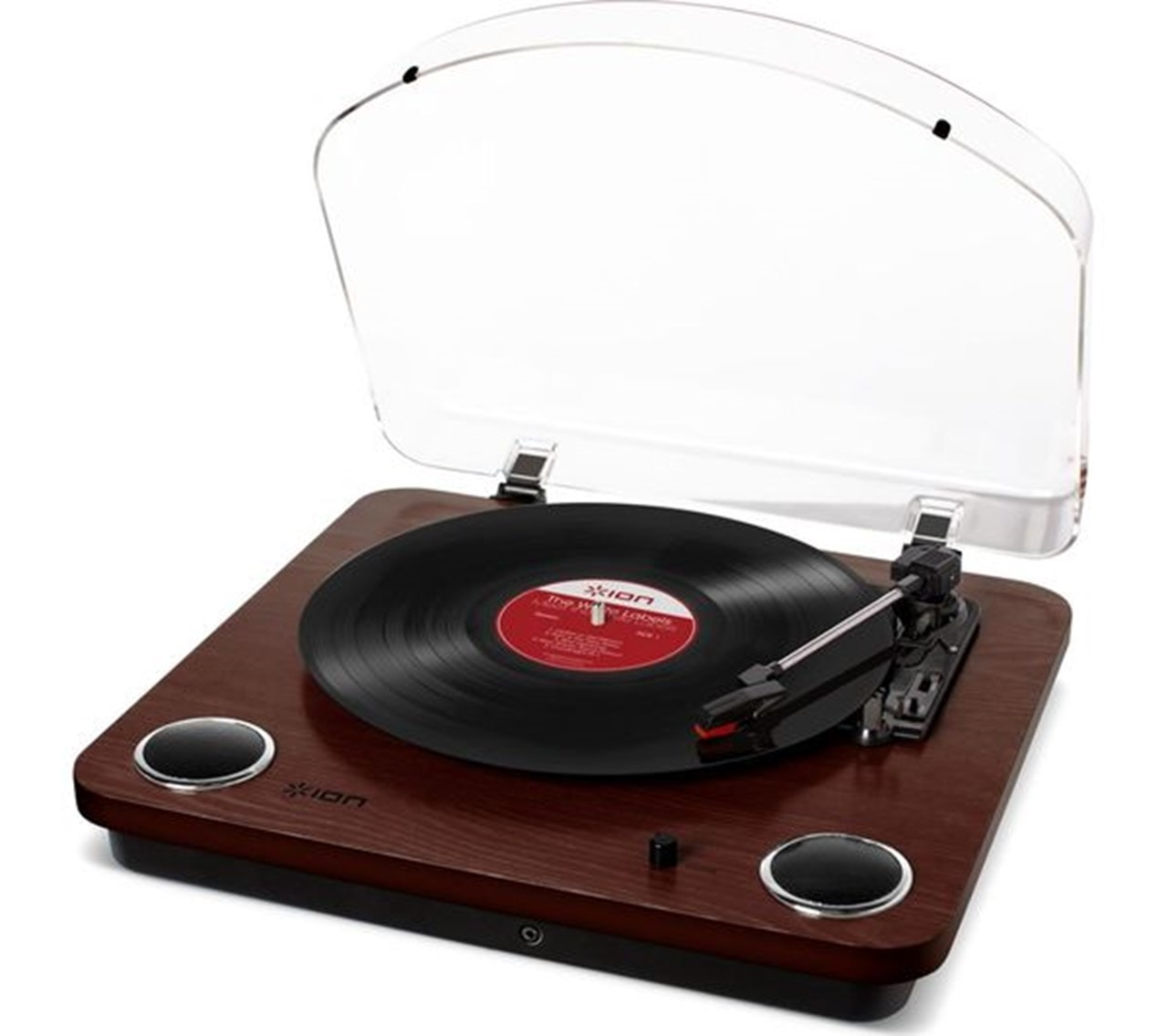 Ion Max LP Dark Wood USB Conversion Turntable - 2