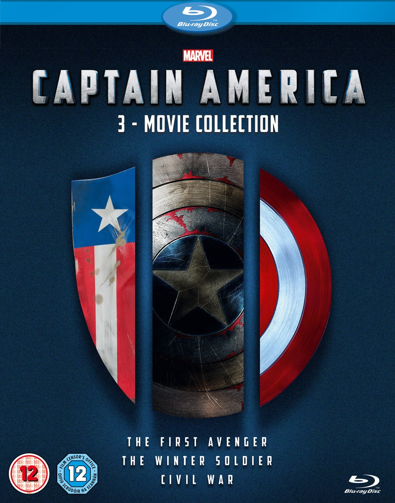 Captain America: 3-movie Collection - 1