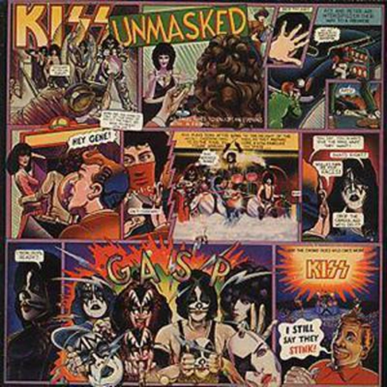 Kiss Unmasked - 1
