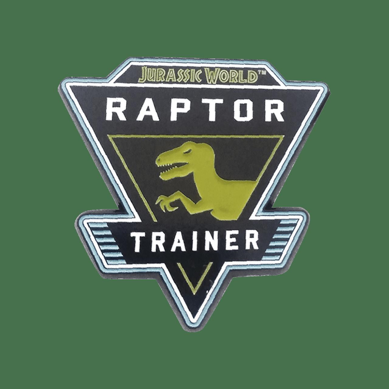 Jurassic World: Rapture Trainer Pin Badge - 2