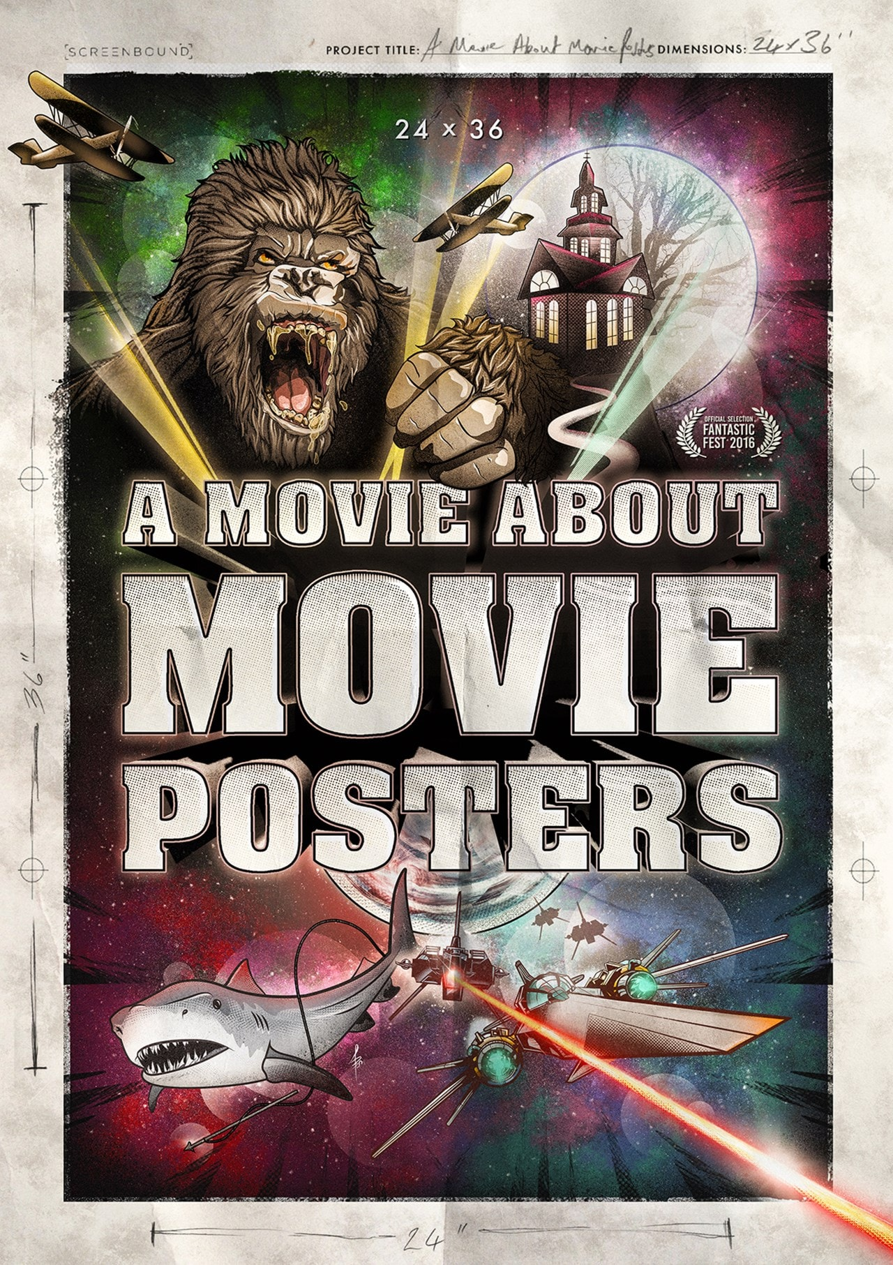 """A Movie About Movie Posters - 24""""x36"""" - 1"""