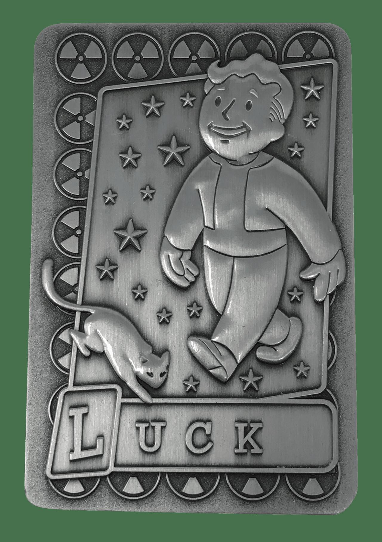 Fallout: Luck Metal Perk Card - 2
