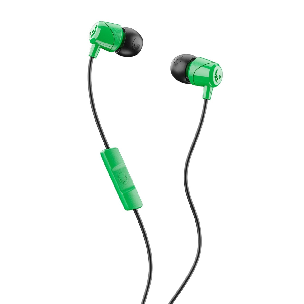 Skullcandy Jib Green/Black Earphones W/Mic - 1