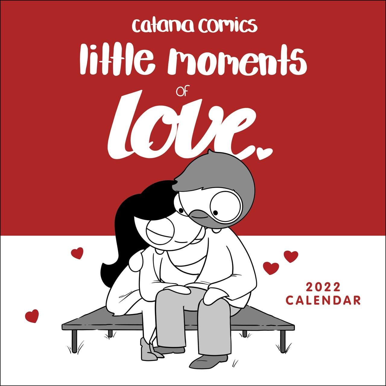 Catana Comics: Little Moments of Love Square 2022 Calendar - 1