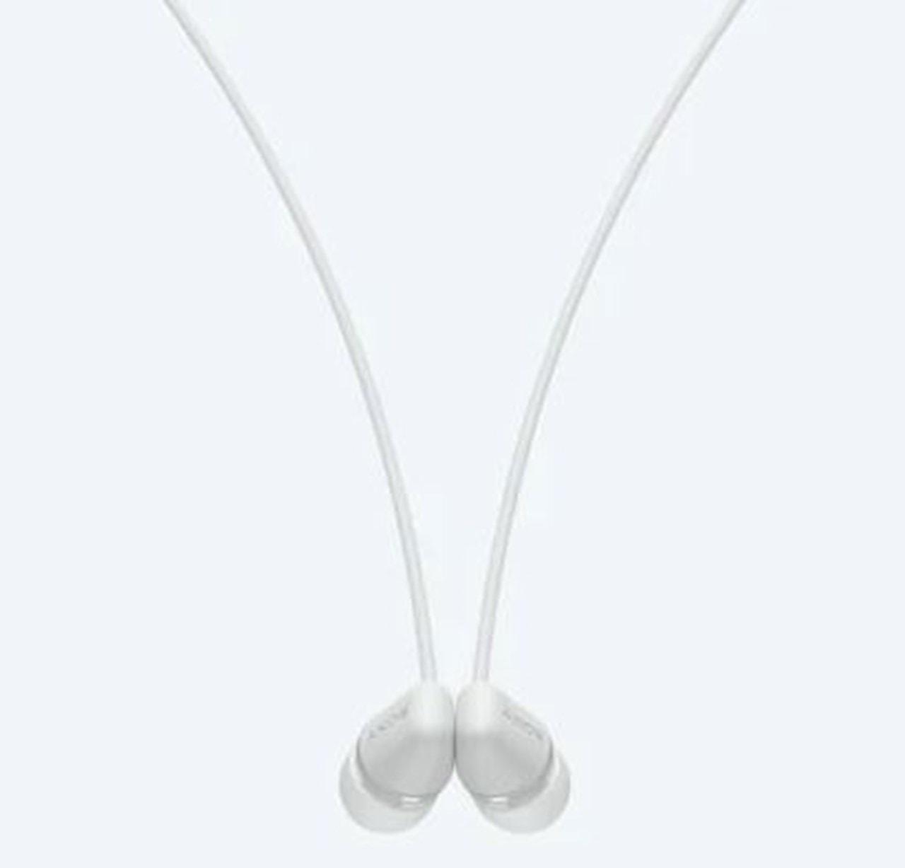 Sony WI-C200 White Bluetooth Earphones - 4