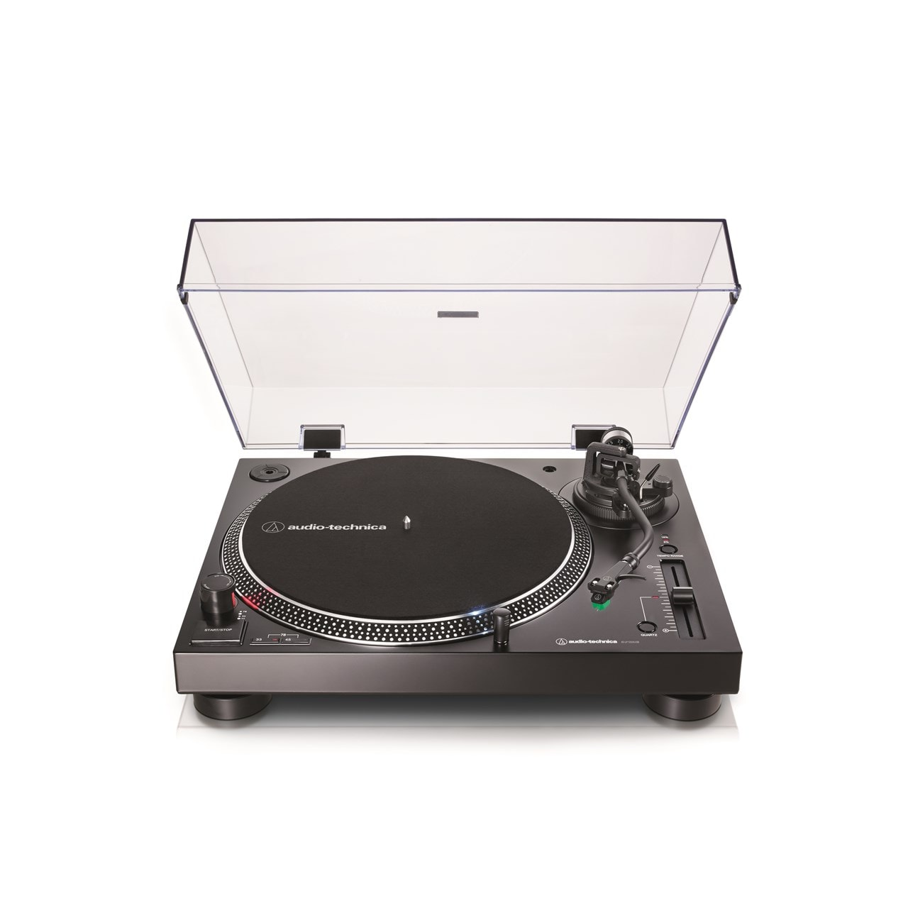 Audio Technica At-LP120X Black Direct-Drive Turntable - 1