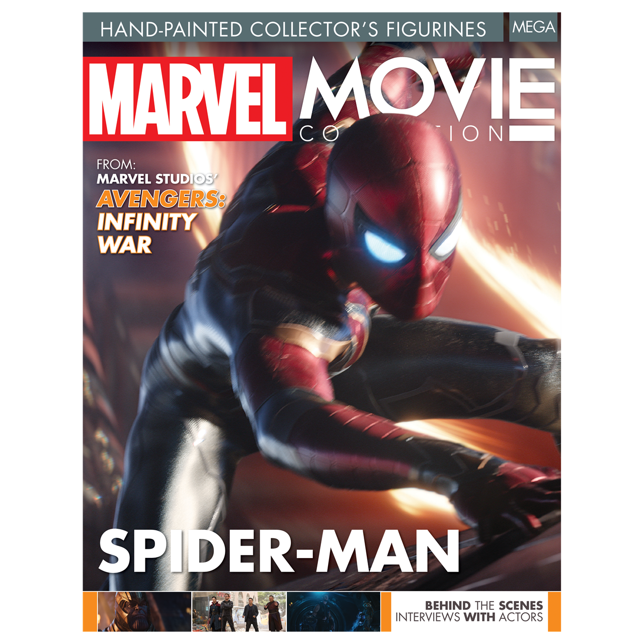 Spiderman on Roof: Marvel Mega Figurine: Hero Collector - 6